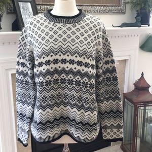 Vintage Evan Picone Fair Isle Sweater